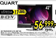 3D televizor LCD 42P 3D