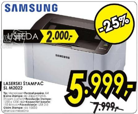 Laserski štampač Sl M2022