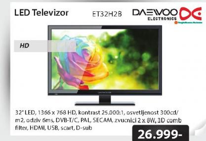 Televizor LED ET32H2B