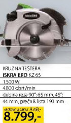 Kružna testera Ero Kz65