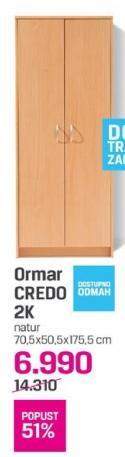 Ormar Credo 2K