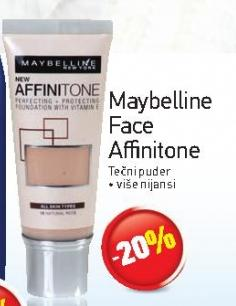 -20% Maybelline Face Affinitone