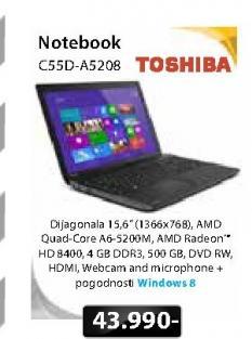 Notebook Satelitte C55D-A5208