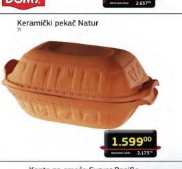 Keramički pekač natur