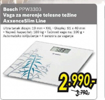 Vaga AxxenceSlim Line PPW3303