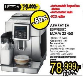 Aparat za espresso Ecam 23 450 + Poklon 1kg Doncafe