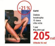 Ženske čarape Delizia