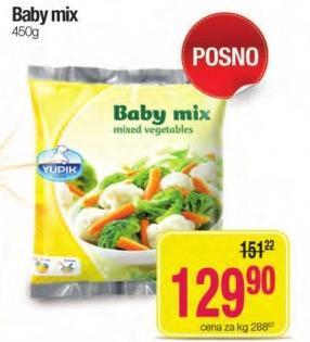 Smrznuto povrće baby mix