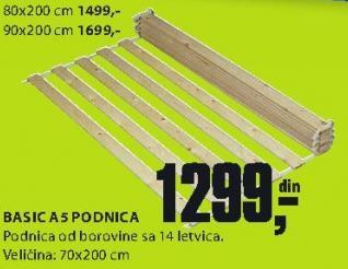 Podnica Basic A5 90x200