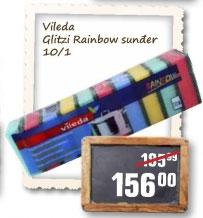 Glitzi rainbow sunđer