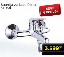 Baterija za kadu, Diplon, ST0 341