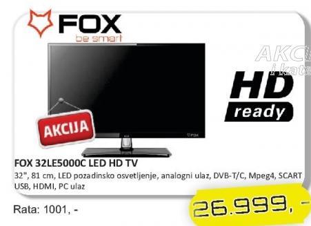 "Televizor LED 32"" 32LE5000C"