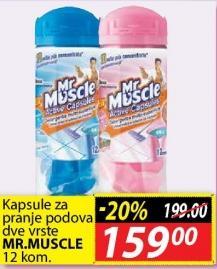 Kapsule za pranje podova