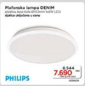 Plafonska lampa Denim 8W