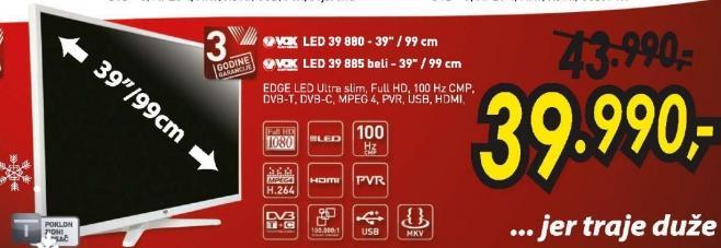 Televizor LED LCD 32 885