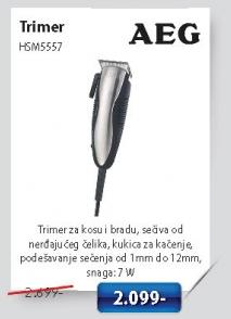 Trimer za kosu i bradu HSM5557