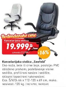 Kancelarijska stolica Seefeld