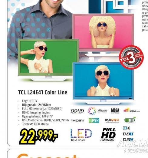 Televizor LED L24E4133F