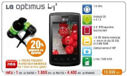 Mobilni telefon Optimus L1 II