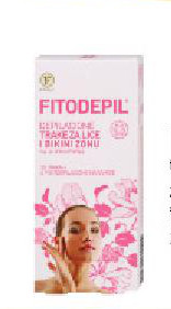 Trake za depilaciju lica i bikini zone Fitodepil