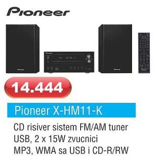 CD receiver X-HM11-K