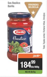 Sos basilico