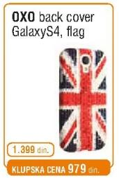 Back Cover Oxo Galaxy S4 Flag
