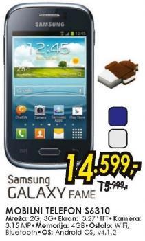 Mobilni telefon Galaxy Fame S6310