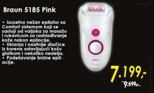 Epilator 5185 Pink