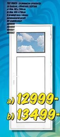 Vrata PVC