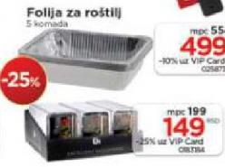 Folija za roštilj