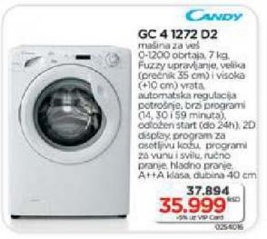 Mašina za pranje veša Gc 4 1272 D2