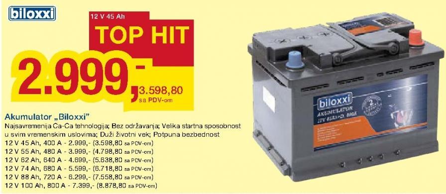 Akumulator 12V 74Ah 680A