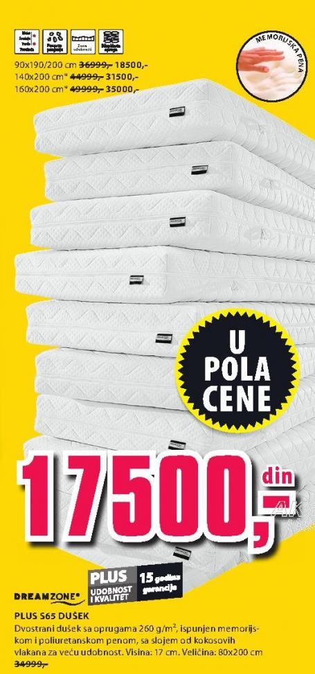Dušek Plus S65 140x200