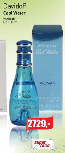 Ženski parfem Cool Water, Davidoff