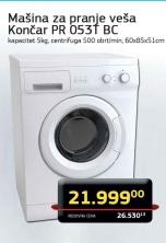 Mašina za pranje posuđa PR 053T BC