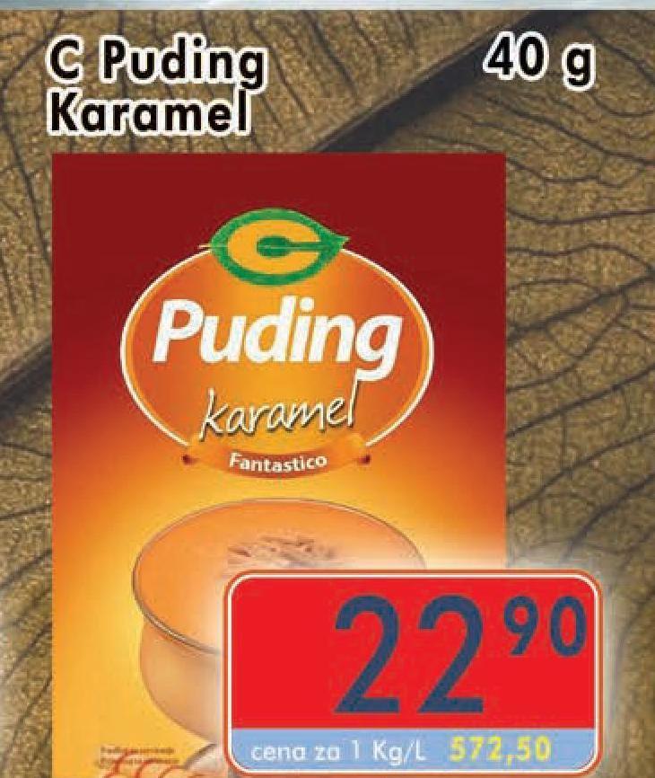 Puding karamel