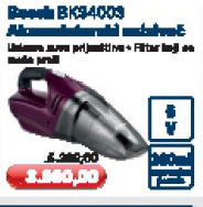 Akumulatorski usisivač BKS4003