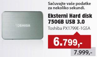 Eksterni Hard Disk PX1799E-1G5A