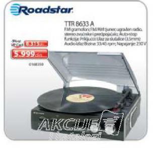 Gramofon TTR 8633 A
