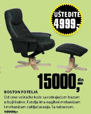 Fotelja Boston