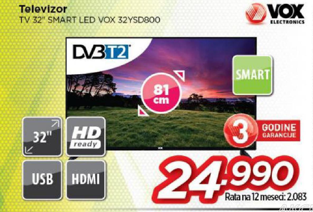 Televizor 32YSD800