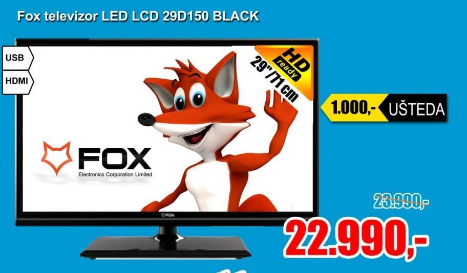 Televizor LED 29D150 BLACK
