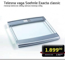Telesna vaga Exacta Classic