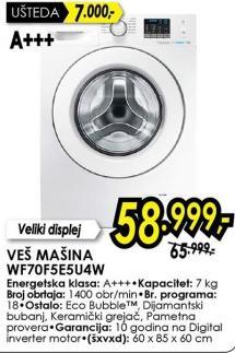 Veš mašina Wf70f5e5u4w