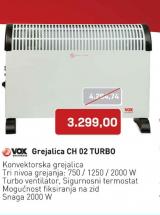 Grejalica  CH 02 TURBO