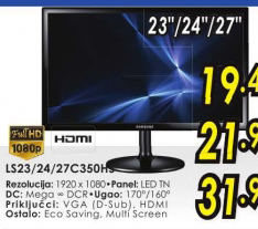 LED LCD monitor S23C350HS