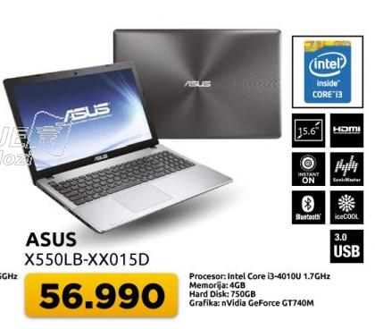 Laptop X550lb-xx01d