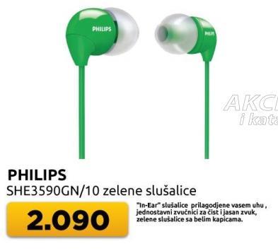 Slušalice She3590gn/10 zelene