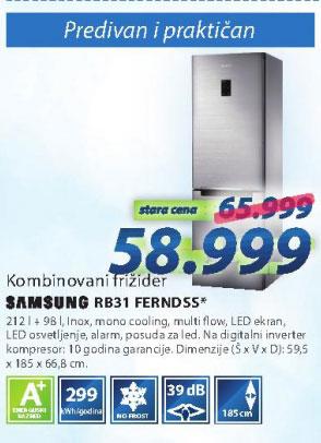 Frižider RB31FDJNDSS/EF